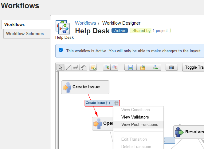 JIRA Workflow Design